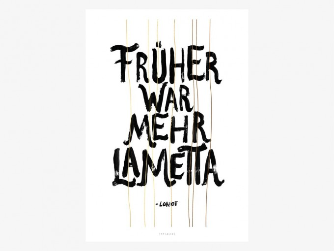 typealive / Mehr Lametta