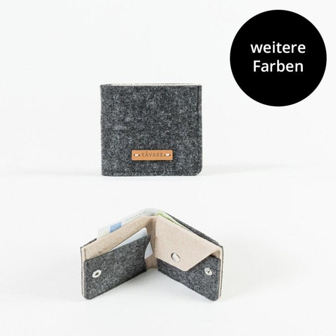 RÅVARE Geldbörse Geldbeutel Portemonnaie in verschiedenen Farben [MENA]