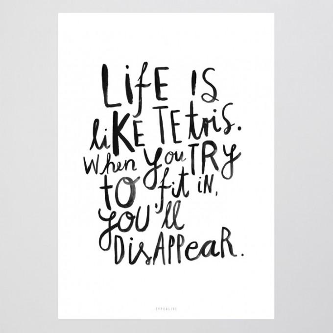 typealive / Life Is