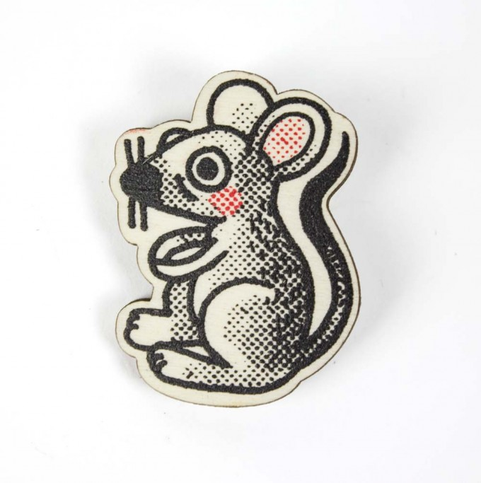 Martin Krusche - Woodpin »Mouse«