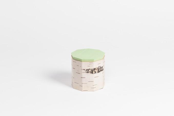 MOYA Nachhaltige Vorratsdosen aus BirkenrindeTUESA T9 | plain edition