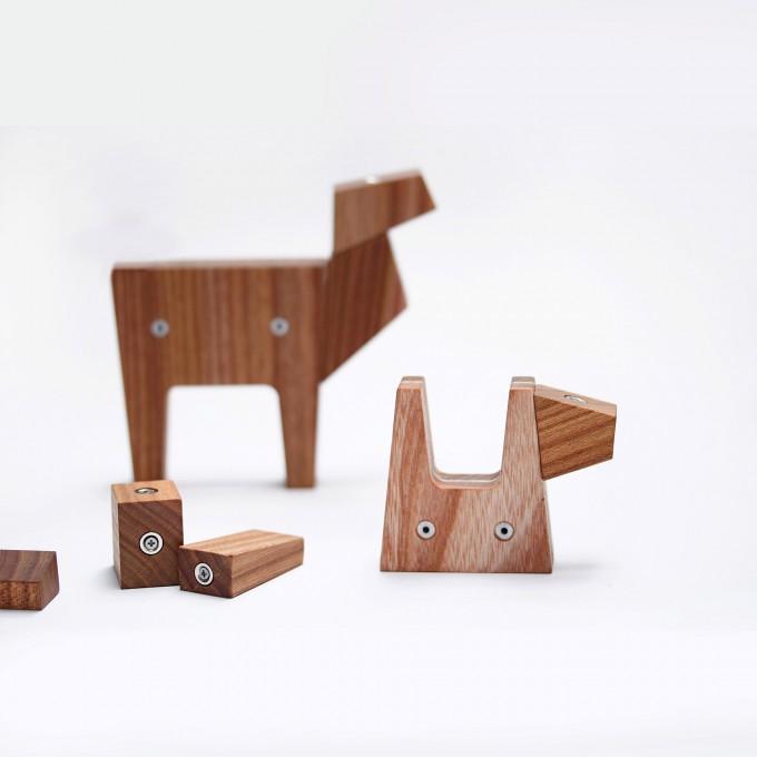 Dingwerkstatt – NINI AMICI - modulares Holzspielzeug Set