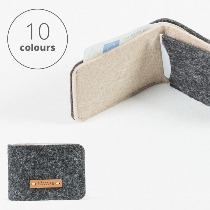 RÅVARE Geldbörse Geldbeutel Portemonnaie in verschiedenen Farben [NIKO]