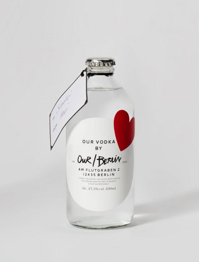 """Heart"" Edition - Our/Berlin Vodka"