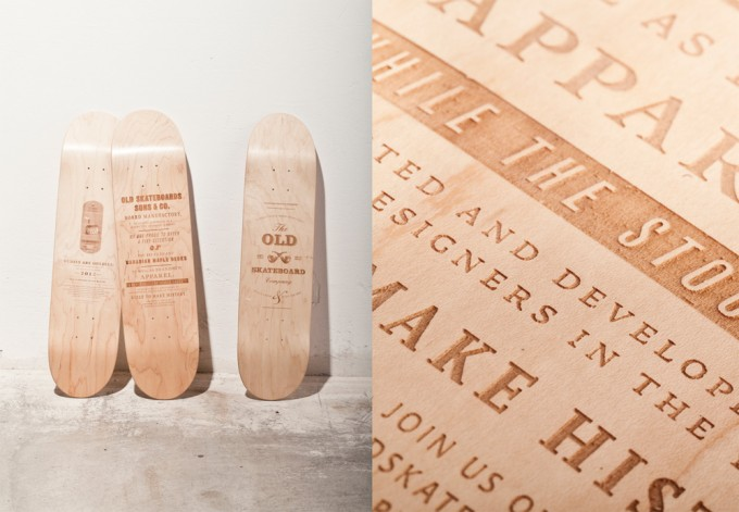 Old Skateboards Triology