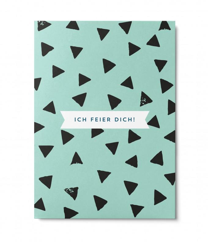 UNTER PINIEN – Ich feier Dich – Postkarte