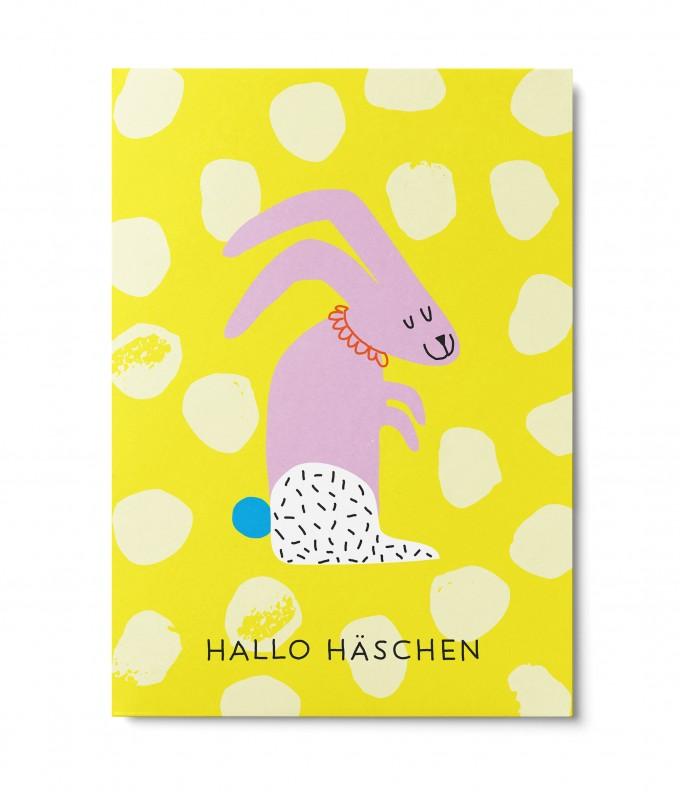 UNTER PINIEN – Hallo Häschen – Postkarte