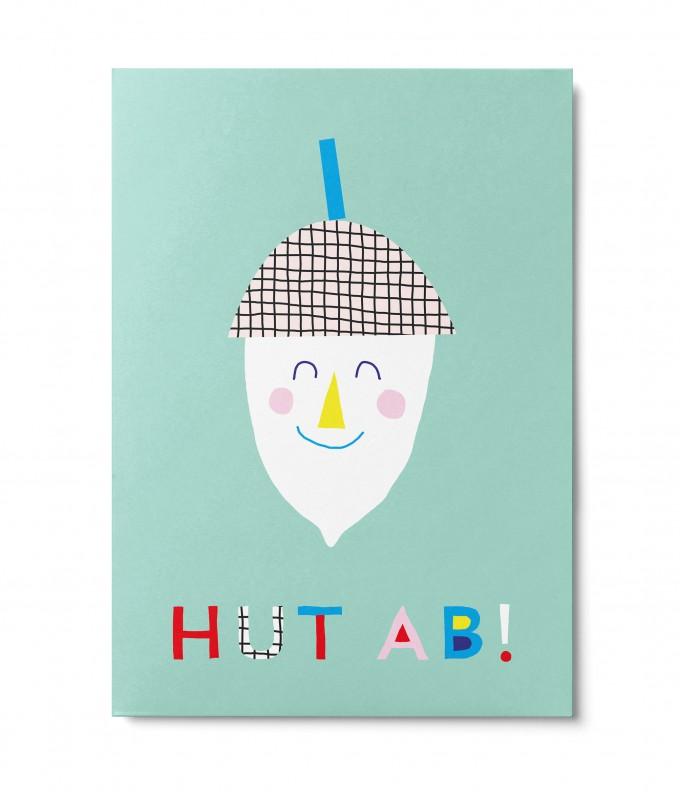 UNTER PINIEN – Hut ab – Postkarte