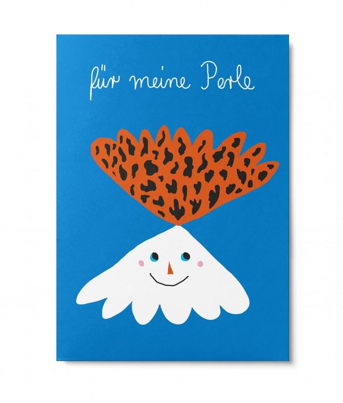 UNTER PINIEN – meine Perle – Postkarte