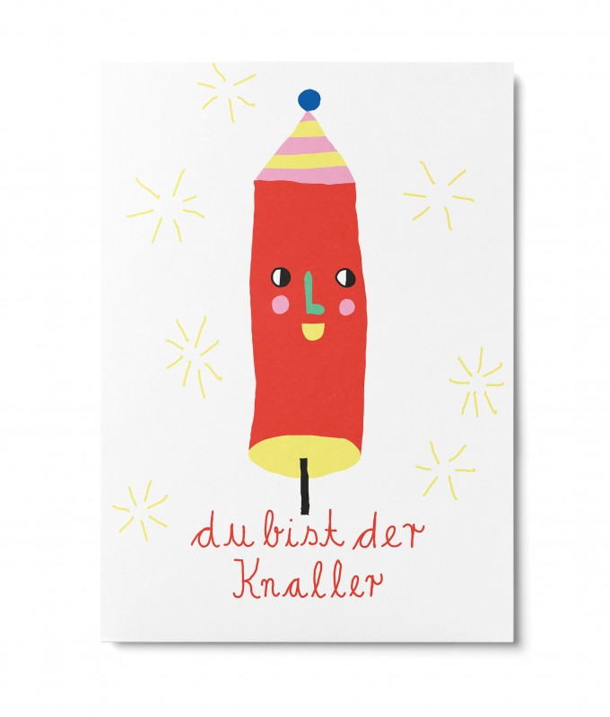 UNTER PINIEN – Knaller – Postkarte