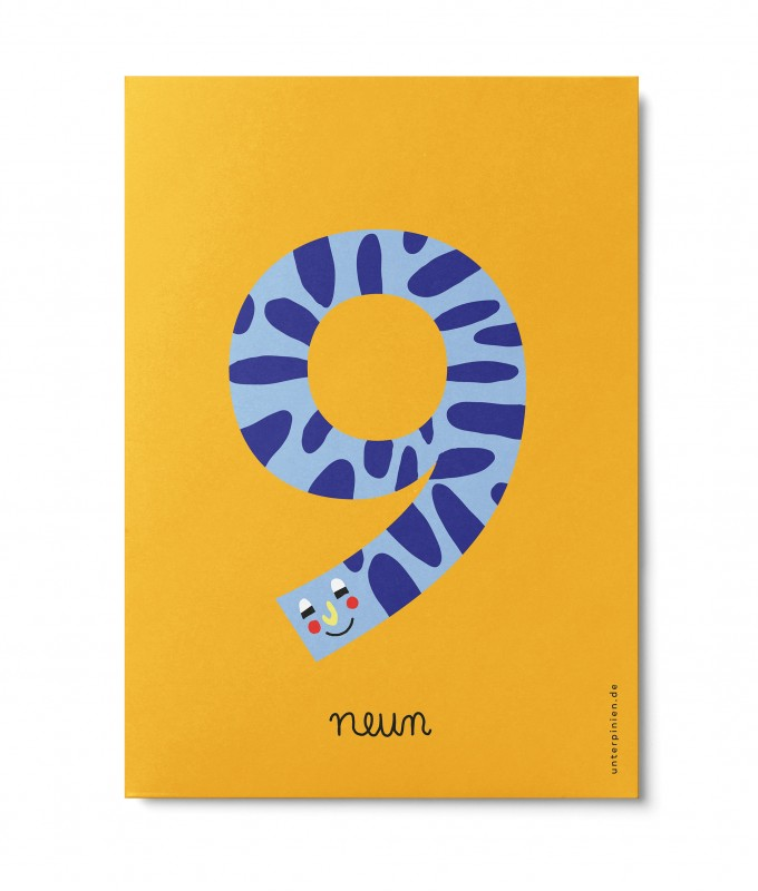 UNTER PINIEN – neun – Postkarte