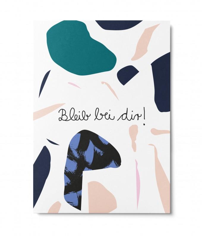UNTER PINIEN – Bleib bei dir – Postkarte