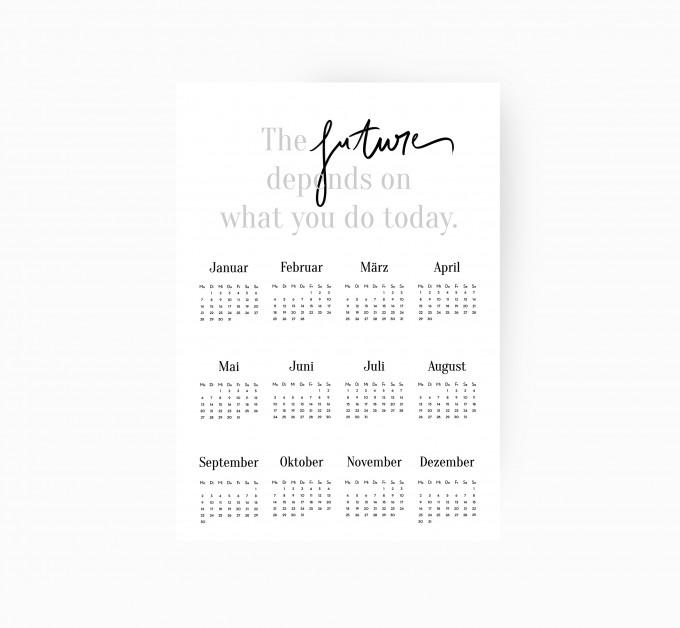 kruth design kalender 2019 the future. Black Bedroom Furniture Sets. Home Design Ideas