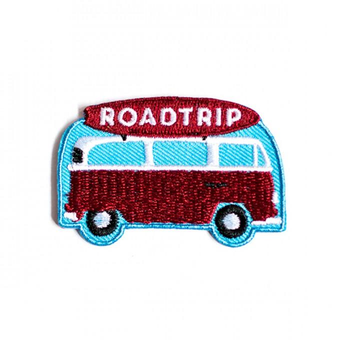 "Roadtyping Patch zum Aufbügeln ""Roadtrip"""