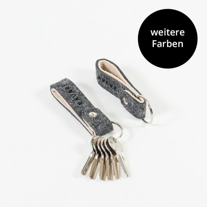 RÅVARE Schlüsselband Schlüsselanhänger in verschiedenen Farben [PERA]