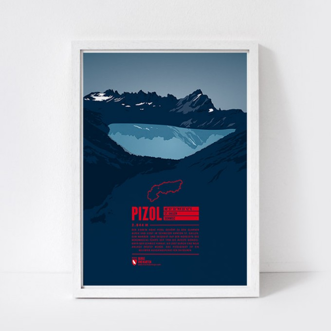 Marmota Maps – Pizol - Bergdruck