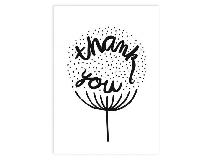 Perunoto - Thank you - Postkarte