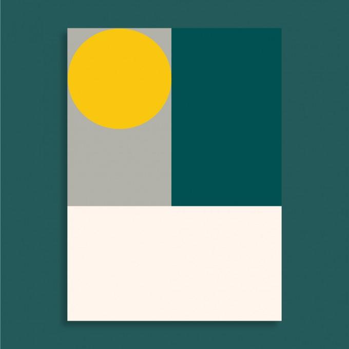 Family Tree Shop / Postkarte / Mondrian