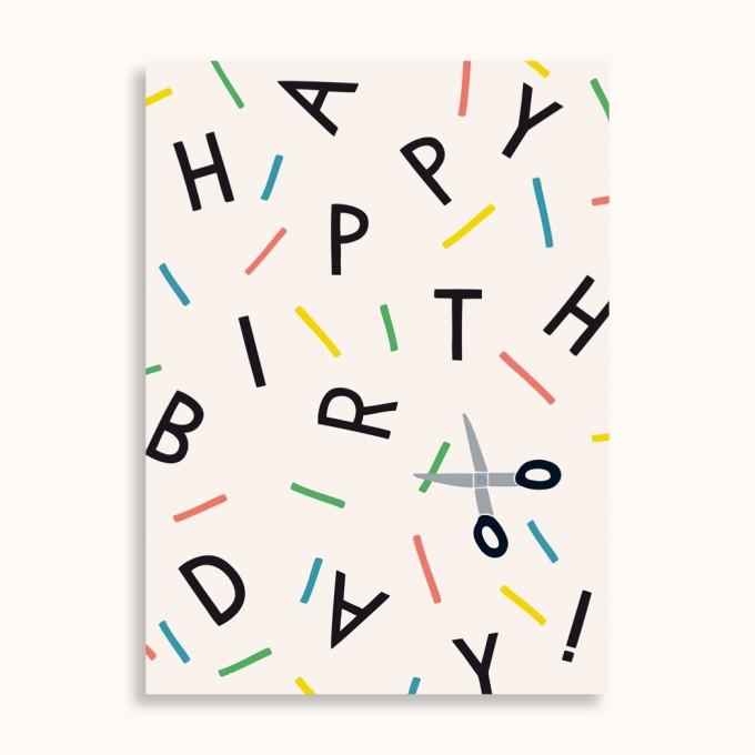 Family Tree Shop / Postkarte / Birthday
