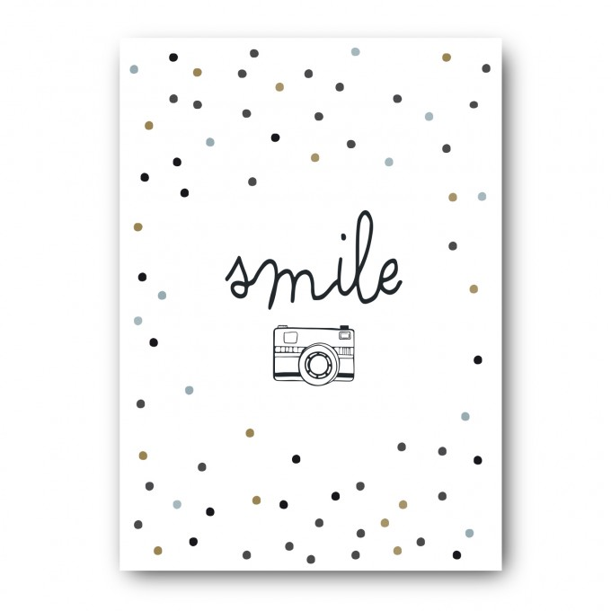 melike Postkarte Smiley