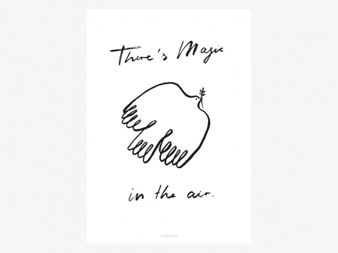 typealive / Magic In The Air Poster