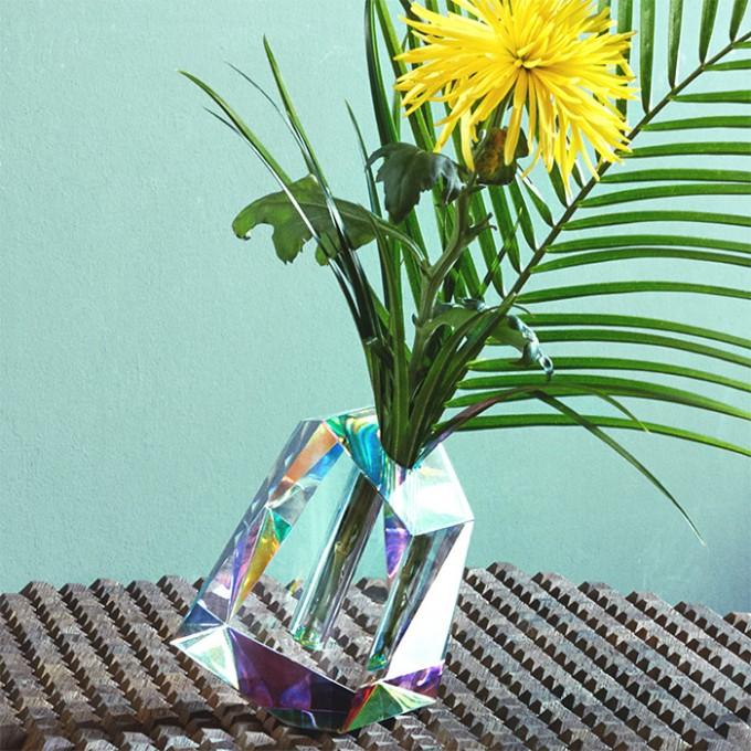 FUNDAMENTAL BERLIN – REGENBOGEN Irreguläre Vase