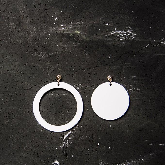 haloa jewellery ROUNDROUND I Ohrringe