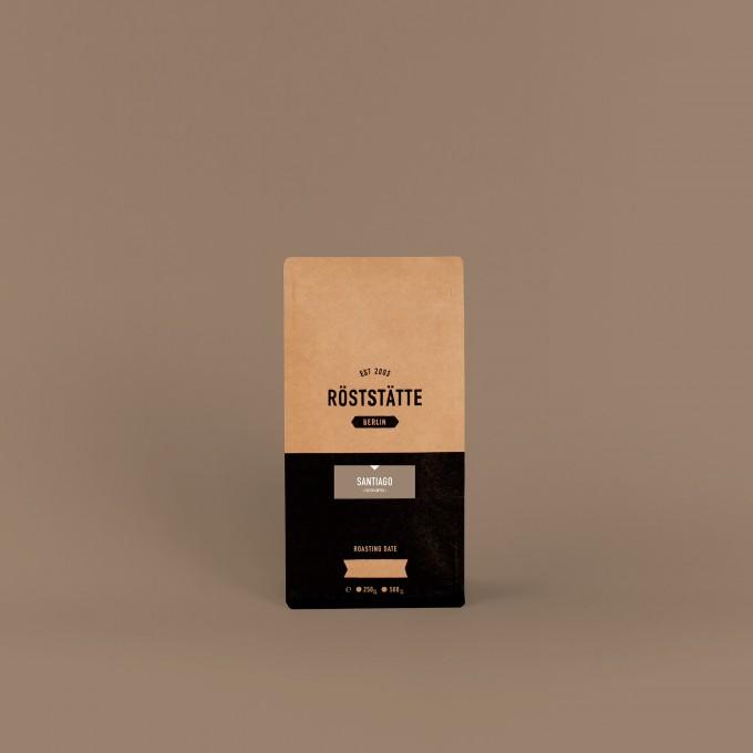 Röststätte Berlin Santiago Filterkaffee, 250g