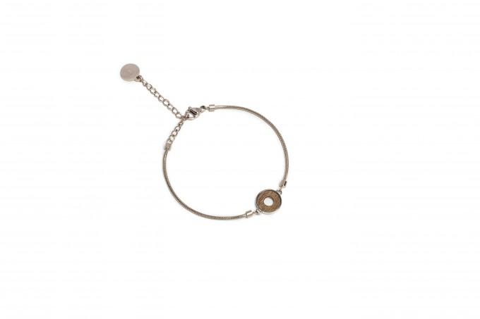 "BeWooden Armband aus Holz in runder Form ""Rea bracelet circle"""