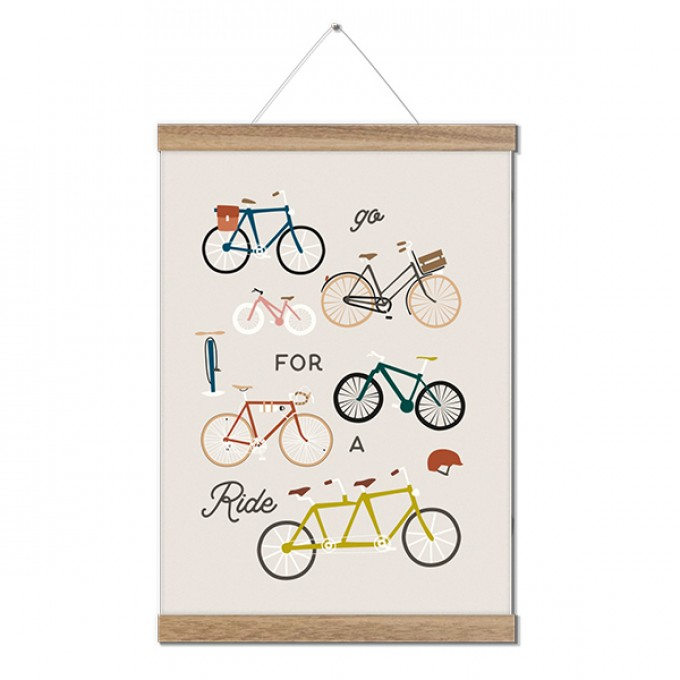 Roadtyping Art Print Go for a Ride (30x40cm)