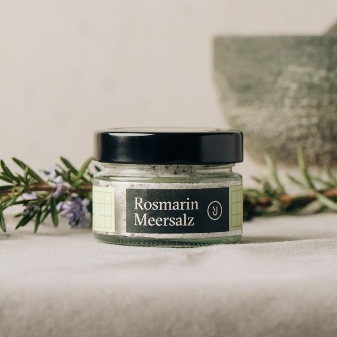 Essen für uns - Rosmarin Meersalz (100g)