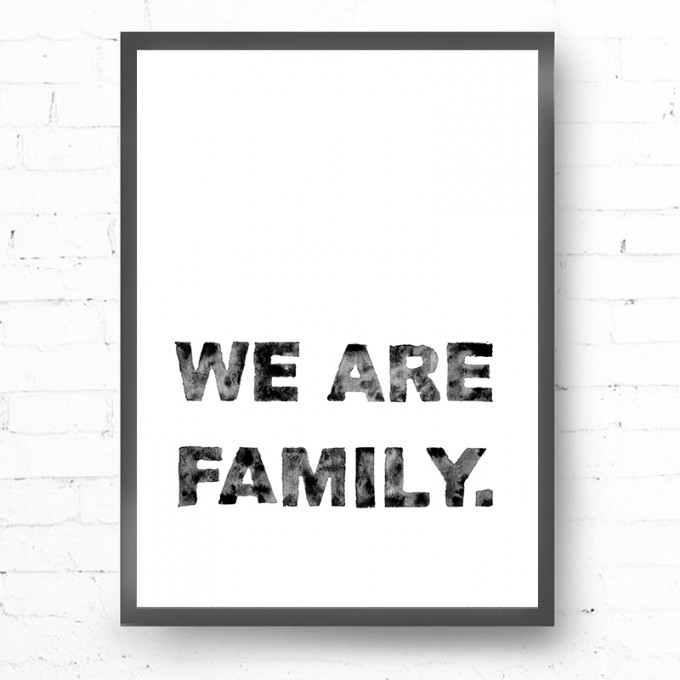 Kruth Design POSTER / FAMILY