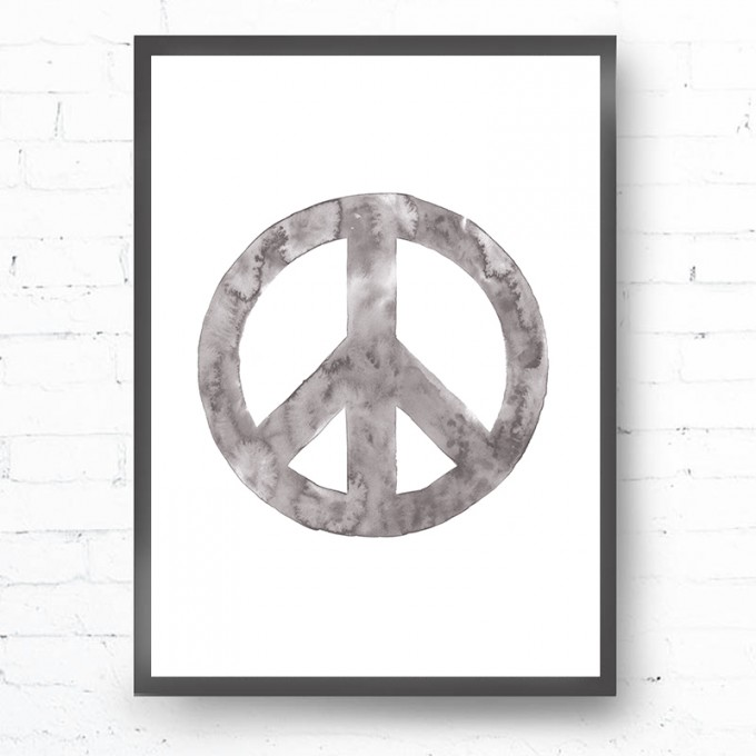 Kruth Design POSTER / PEACE