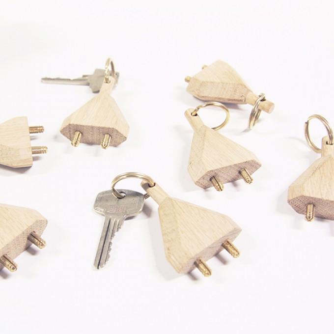 kitschcanmakeyourich BORIS STECKER Schlüsselanhänger