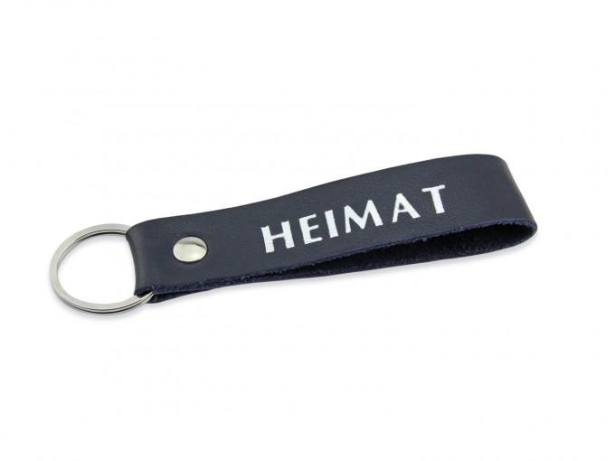 lille mus Schlüsselanhänger HEIMAT aus Leder