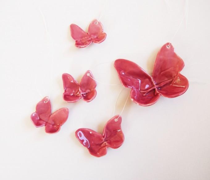 moij design Porzellan Schmetterlinge
