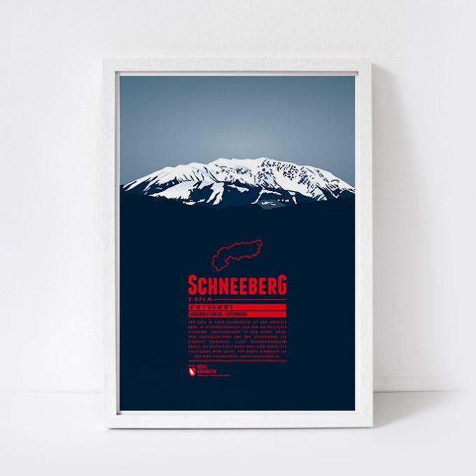 Marmota Maps – Schneeberg - Bergdruck