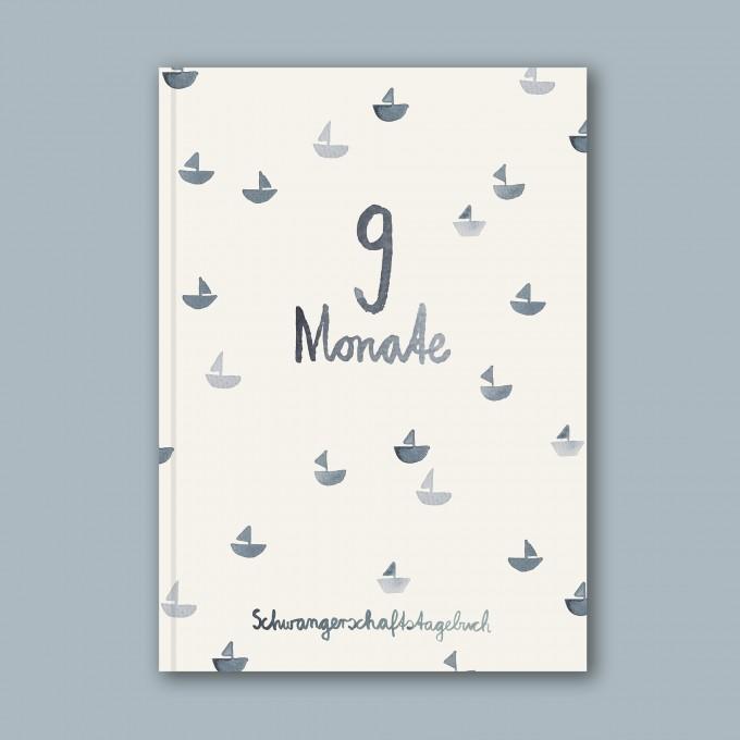 Schwangerschaftstagebuch - 9 Monate  Meer – Elliet
