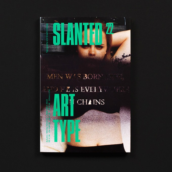 Slanted Magazin #22 – Art Type
