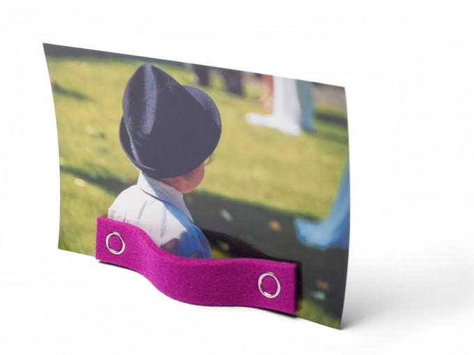 inteamdesign Stand Up Kartenhalter aus Filz