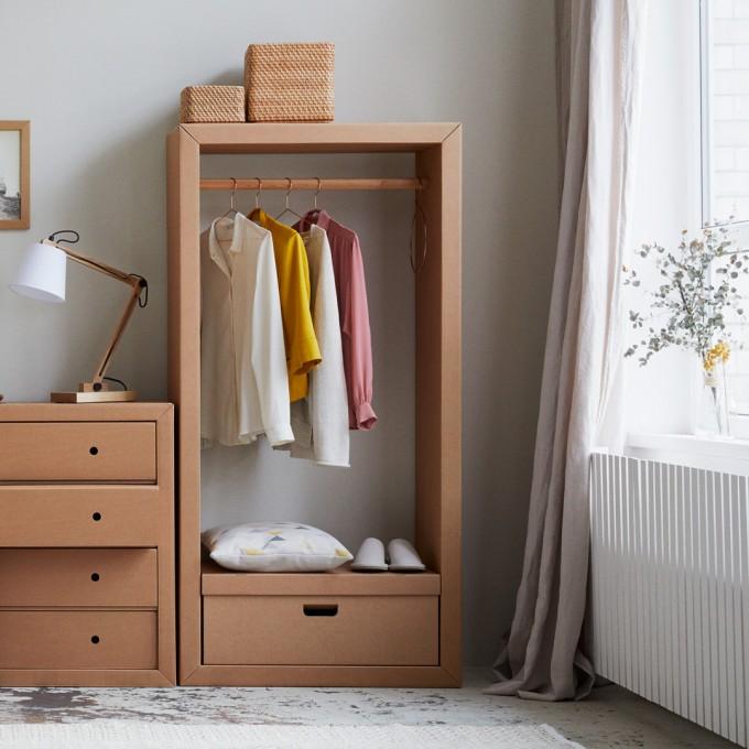 STANGE DESIGN Garderobe ADAM RIESE mit Kiste