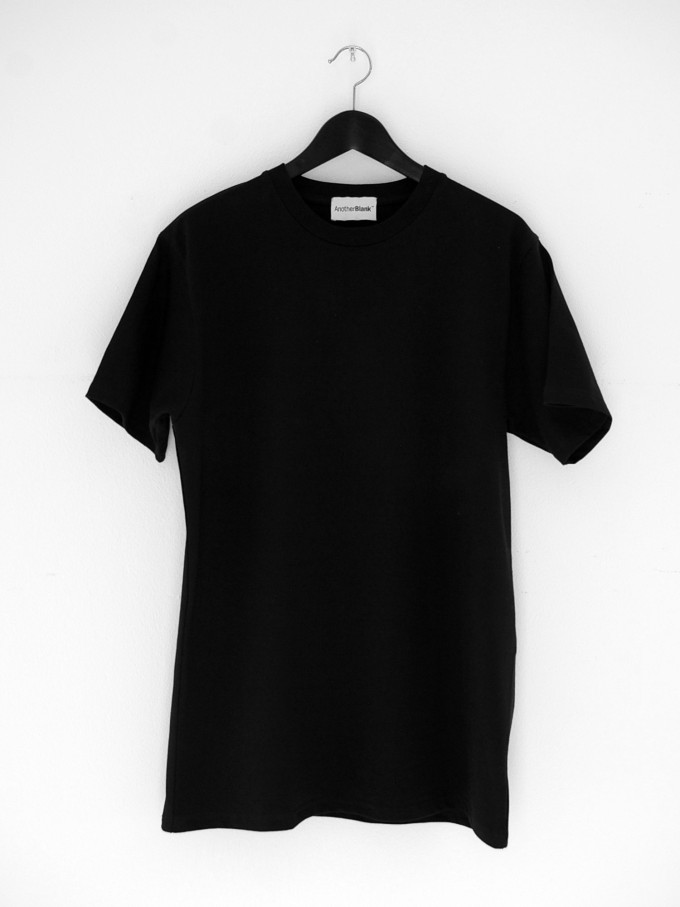 AnotherBlank HEAVY T-SHIRT BLACK 240G AB_TS_M_009