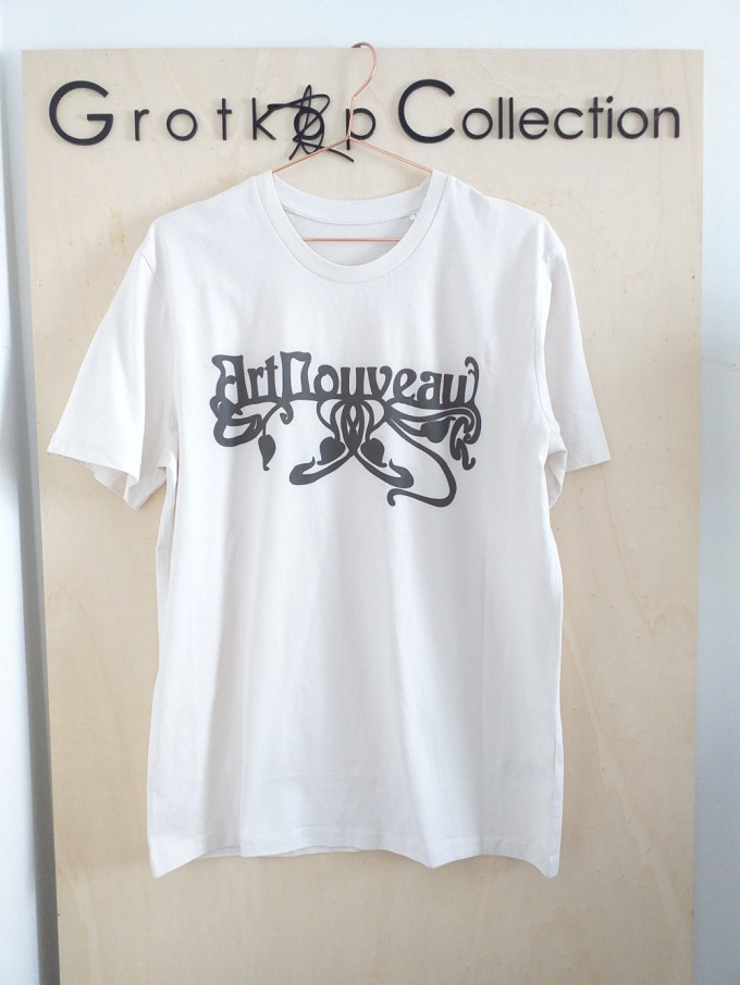 Grotkop Collection ArtNouveau T-Shirt, Bio-Baumwolle