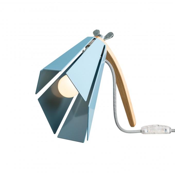 Lichtliebe – Tischleuchte Beacon pastellblau