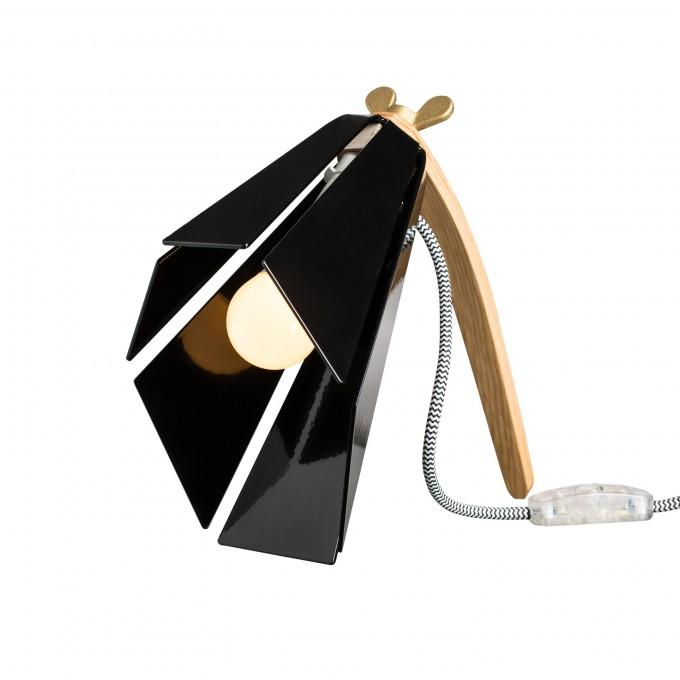 Lichtliebe – Tischleuchte Beacon schwarz