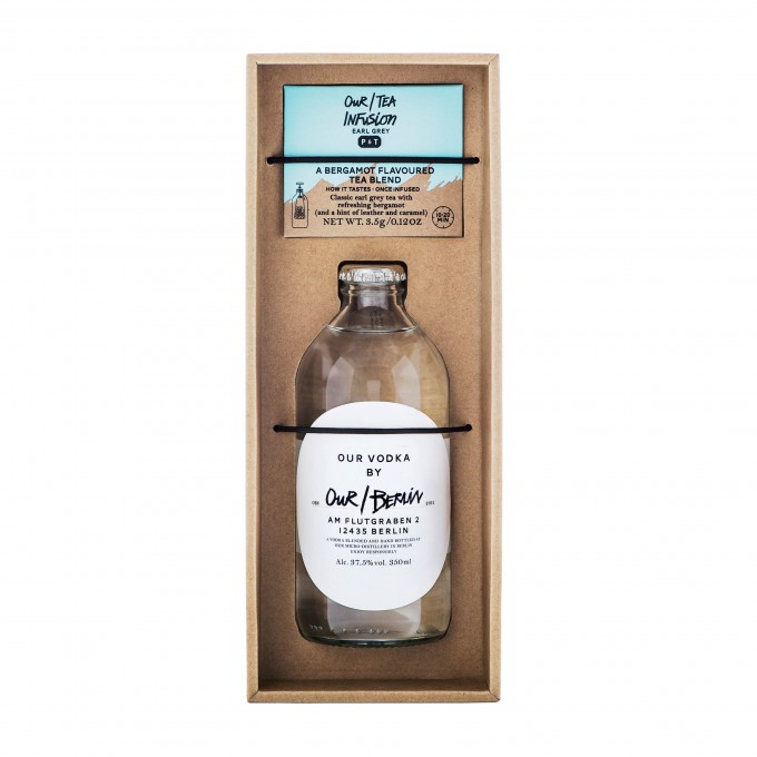 Our/Berlin Vodka Infusion Kit - Earl Grey Tee