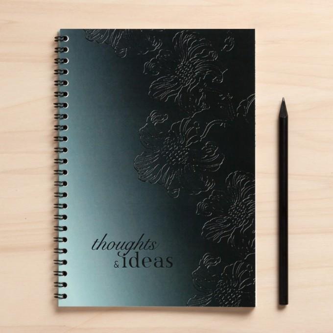 """Amy & Kurt Berlin A5 Notizbuch """"Thoughts & Ideas"""""""