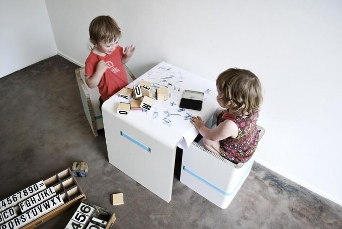 UOCU CC_CT_010_SET (Kindertisch- und -stuhl)