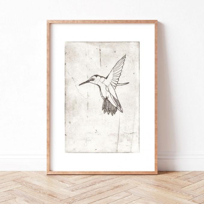 Paperlandscape | Kunstdruck | Kolibri | verschiedene Größen