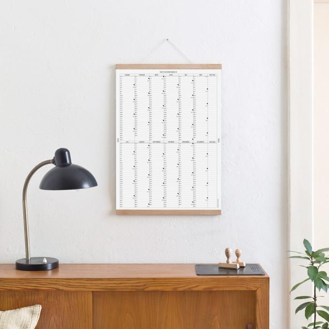 Kleinwaren / von Laufenberg – Der A2 Wandkalender 2020 mit Posterleiste